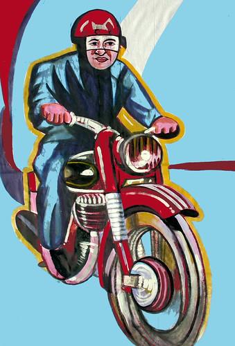 moto by toño merinero