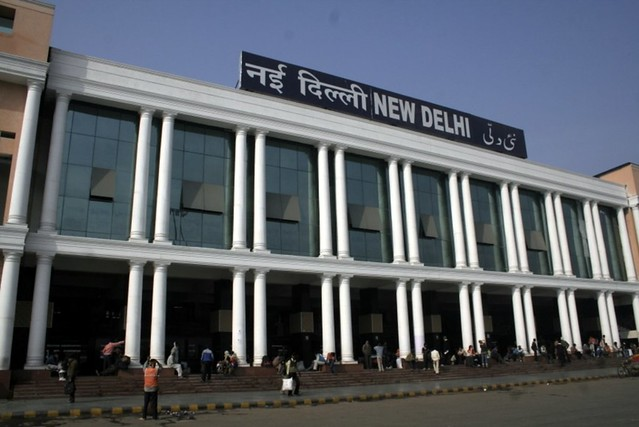 New Delhi Railway Station http://www.flickr.com/photos/ramesh_lalwani/4159727720/