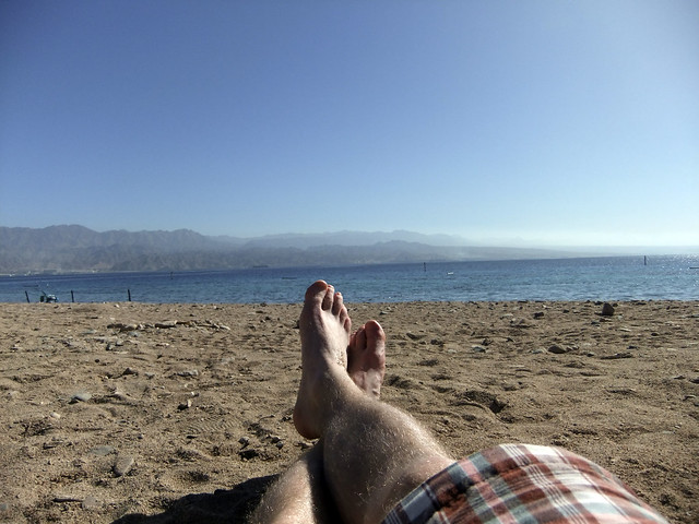 Eilat beach. by infliv, on Flickr