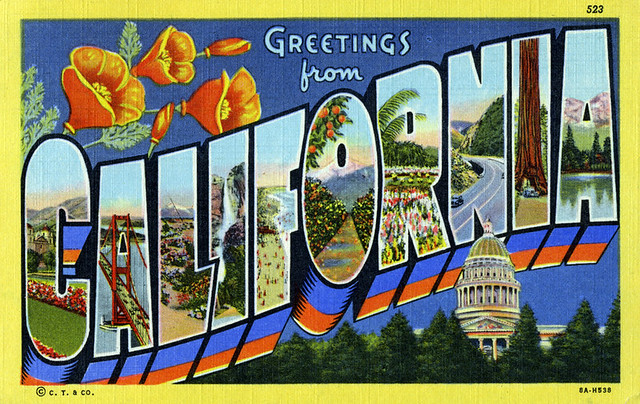 California Postcards - a gallery on Flickr