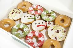 Holiday Dozen Box, Krispy Kreme Doughnuts, Shinjuku