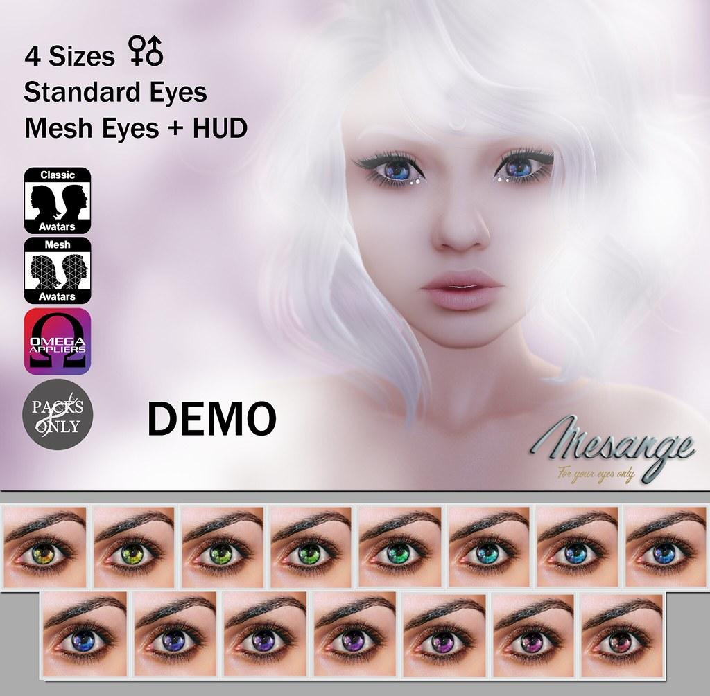 MESANGE - Capriccio Eyes for APPLIQUE - SecondLifeHub.com