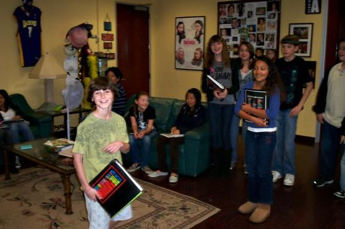 A Few Pictures of 2009 Playground Acting Students - More to Come