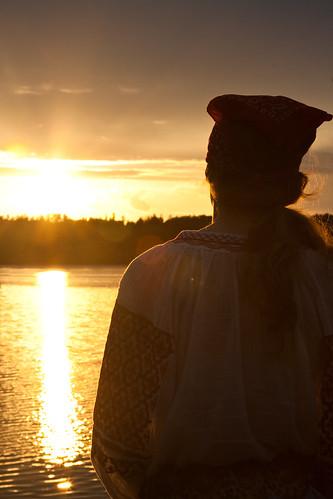 sunset wisconsin jj pirate joshritter beautifulnight minong birchtrail