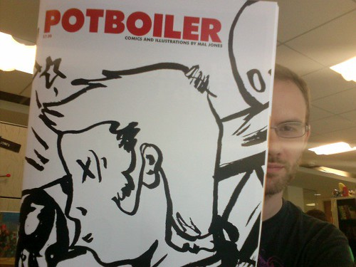 Potboiler: Proof Cover