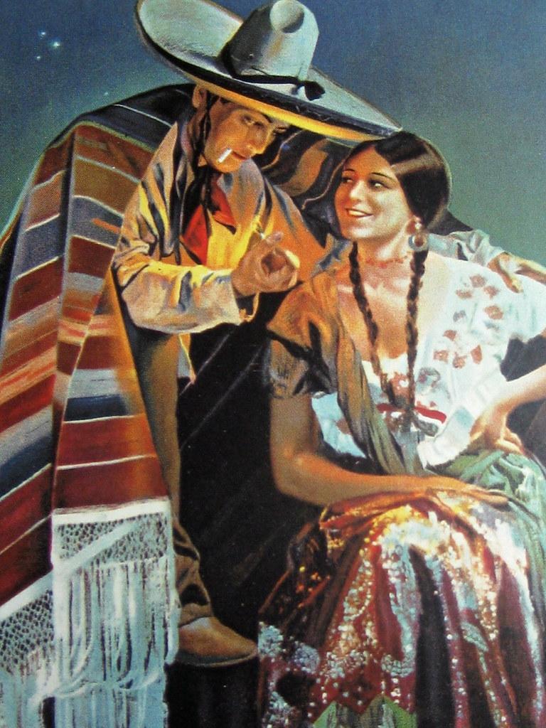 Vintage Mexican Postcard C1935