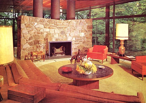 Flickr the 1970 39 s interior design and residential for 1970s living room interior design