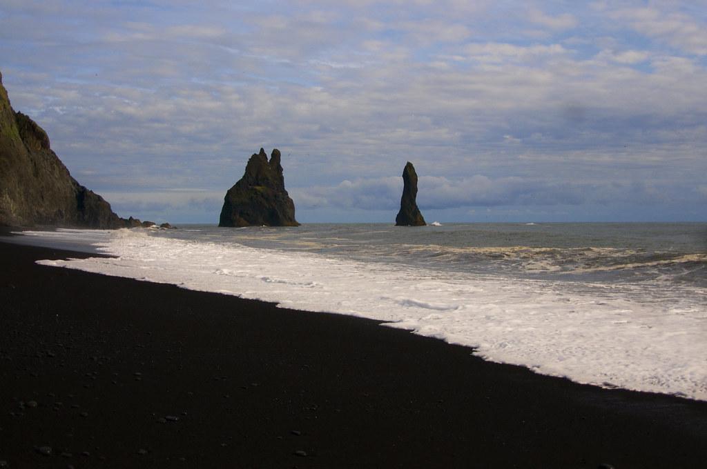 Black sand beach-Iceland