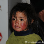 Wind and Sun-Burnt Cheeks - Chacarilla, Peru