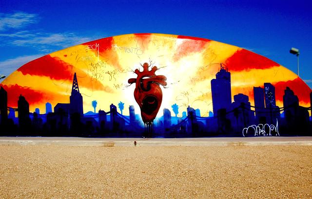 Desert West Park, Skate Park Mural