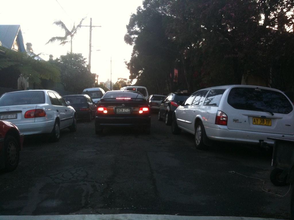 aparcar en australia