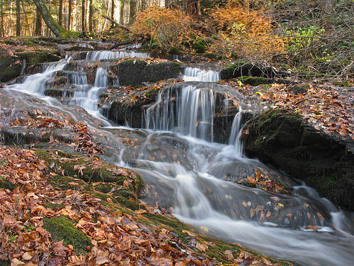 waterfall newjersey nj cascade mountainroad sussexcounty stokesstateforest wallpack