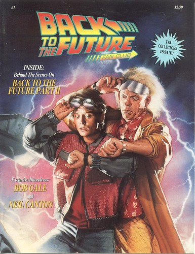 Back to the Future Fan Club Magazine #1 - Winter 1989