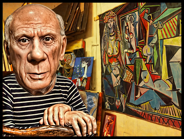 My tribute to PICASSO