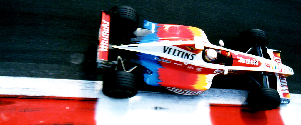 alex zanardi - williams FW21