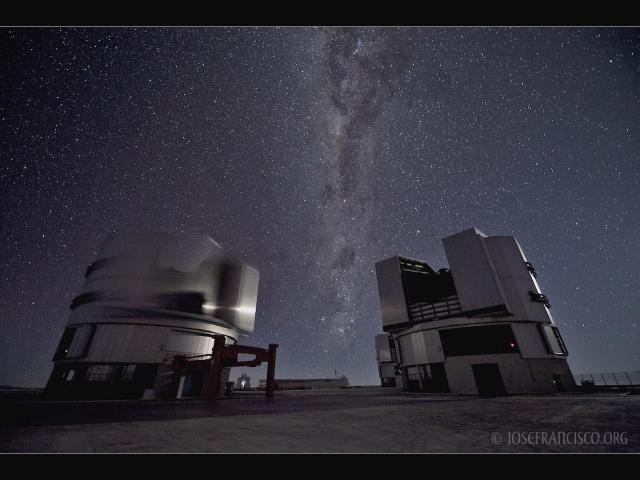 UT 3, 4 & The Milky Way