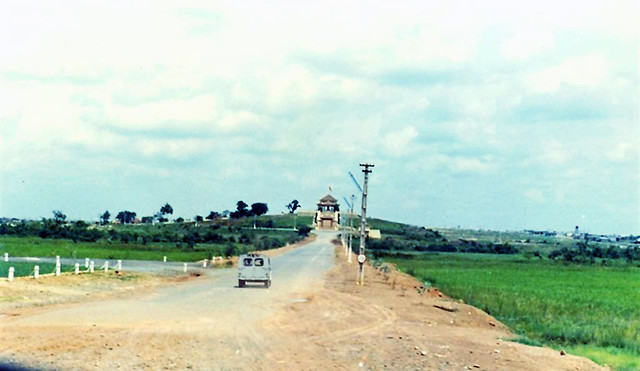 1970 Entrance To ARVN National Cemetery by Jim Schlegel