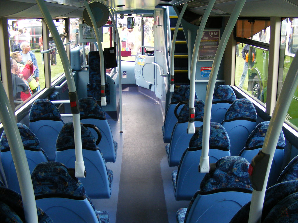 Volvo luxury bus interior - Bus Interiors Go North East 3962 Nk06jxe Volvo B7tl
