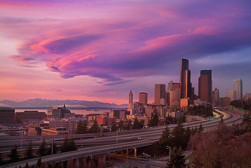 Jose Rizal Park, Seattle - Lenticular Storm