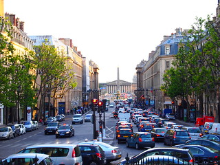 Parisian traffic
