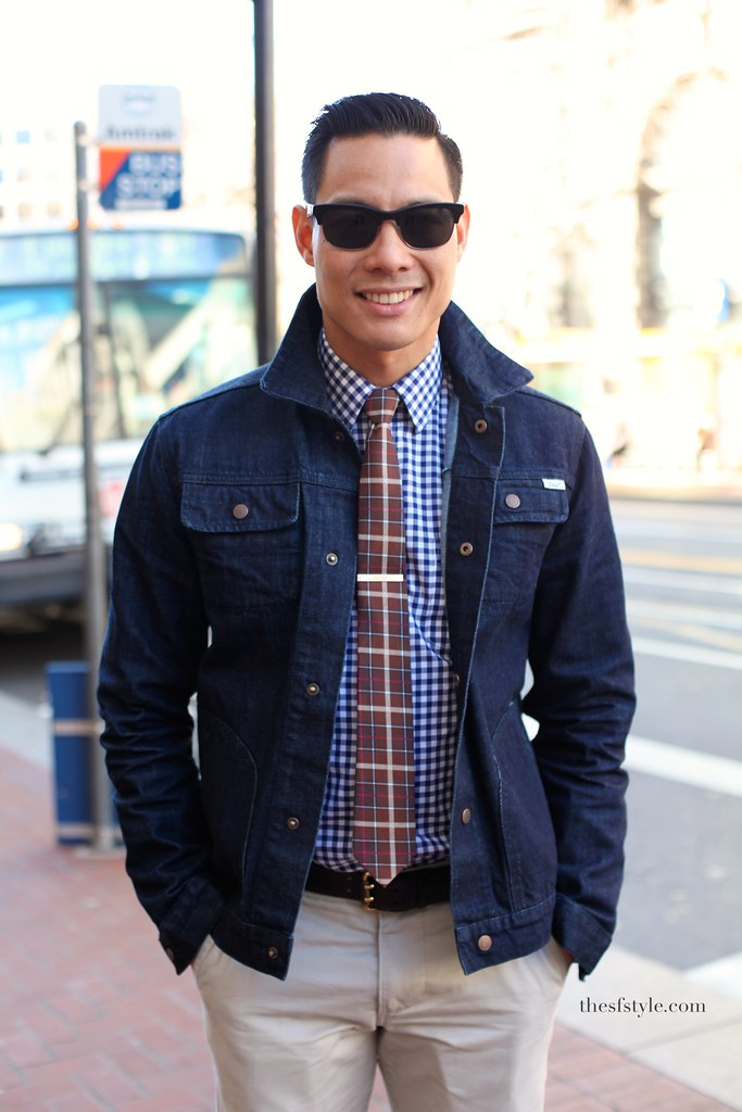 man morsel monday, mixed patterns, san francisco street style fashion blog,