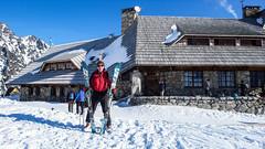 Skitura Dolina 5 Stawów w Tatrach  - luty 2017