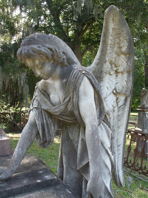 Cemetery Angel Statue Flickr Photo Sharing