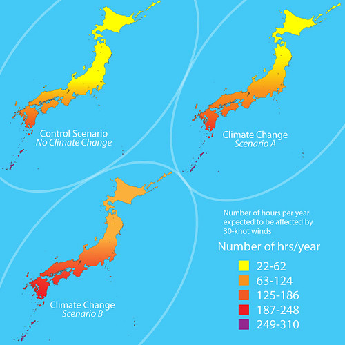 Climate Change Scenarios In Japan Northward Shift In Tropi Flickr
