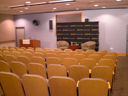 The Room Set Up for the Address