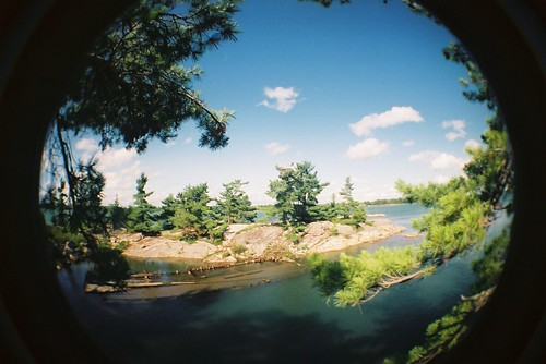 ontario canada st pine ferry river joseph carpet island lomo lomography magic fisheye marys matthews algoma jopine
