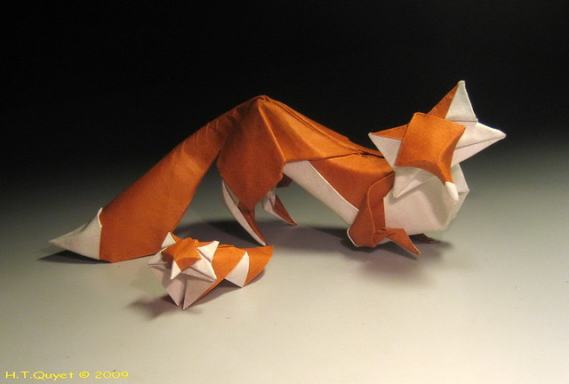 the best of origami - a gallery on flickr 3d origami fox diagram sorting 3d shapes carroll diagram game