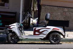 golf cart with flame job    MG 1821