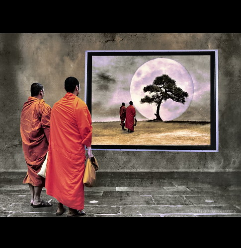 Meditation Two Monks