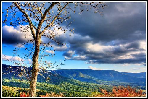 autumn usa fall outdoors virginia unitedstates south northamerica hdr shenandoahnationalpark southernunitedstates warrencounty 3px northernshenandoahvalley gooneymanoroverlook