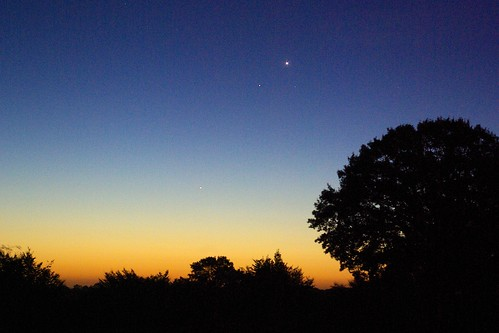 Planetary Conjunction at Dawn