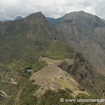 View of Machu Picchu from Wayna Picchu - Peru