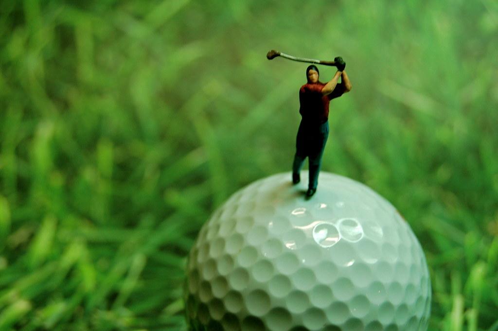 """Golf """"Lessen"""""""