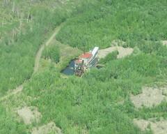 Yukon-Charley Rivers National Preserve - Coal Creek mining dredge