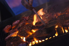 outdoor grill, roasting, grilling, barbecue, food, dish, fire, cuisine, barbecue grill, cooking, flame,
