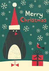 Penguin Merry Christmas