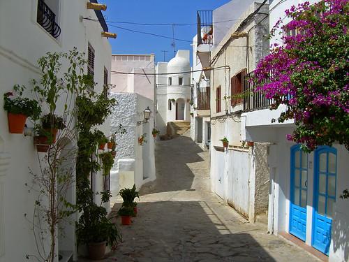 Calles de Mojacar
