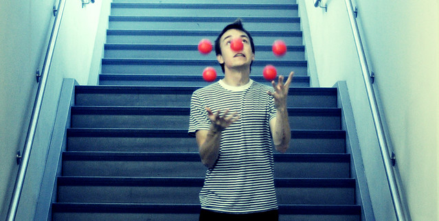 Juggling Too Many Balls At Once Only Works For Clowns