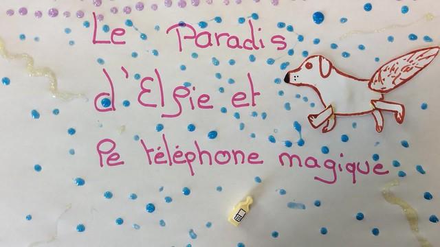 Le paradis d'Elfie et le téléphone magique