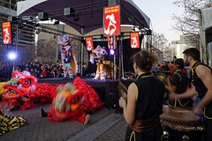 Lunar New Year Lion Dance and Drumming