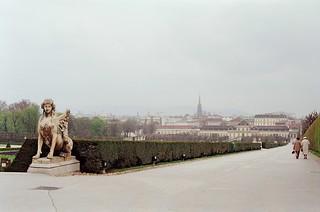5/25/42 - Belvedere Garten, Vienna -  Austria 1987