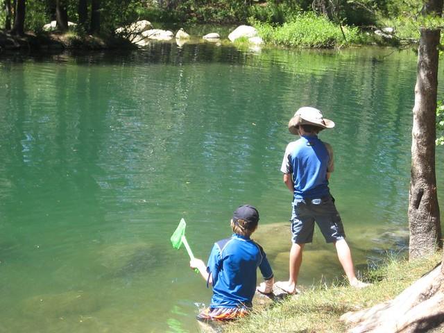 Crawdad fishing at donner lake flickr photo sharing for Donner lake fishing report