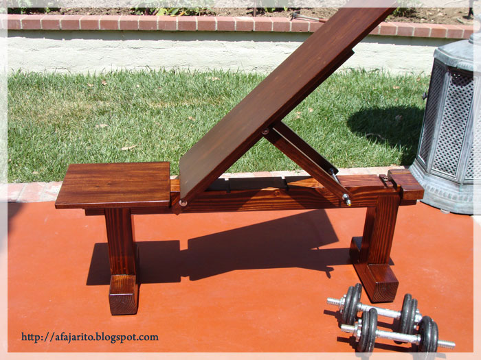 Diy weight bench position flat incline