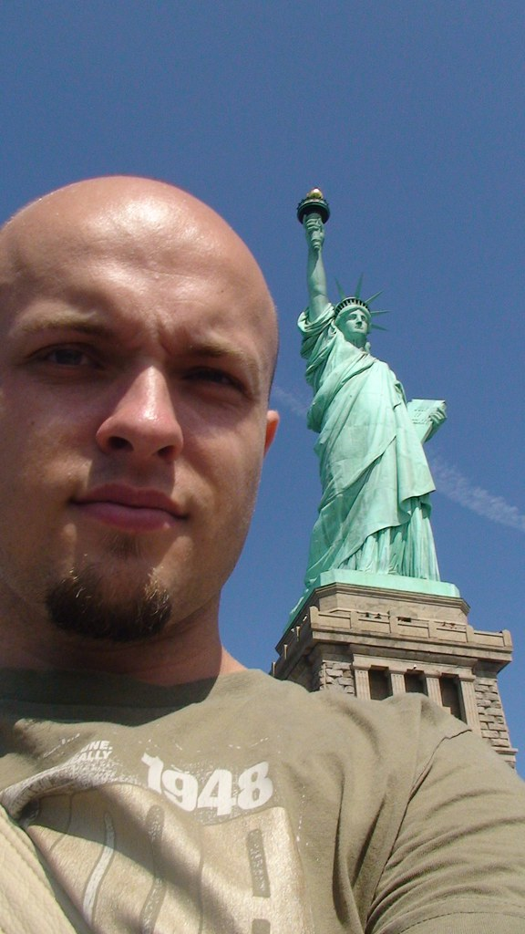 Liberty Near Me >> Me Next To The Statue Of Liberty Nikki Kuppens Flickr