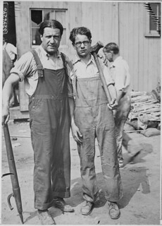 Doctor Stephen S. Wise, Rabbi of the Free Synagogue, Has Become a Laborer in the Shipbuilding Yards of the Luder Marine Construction Company, at Stanford, Connecticut