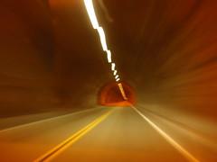 Tioga Road tunnel